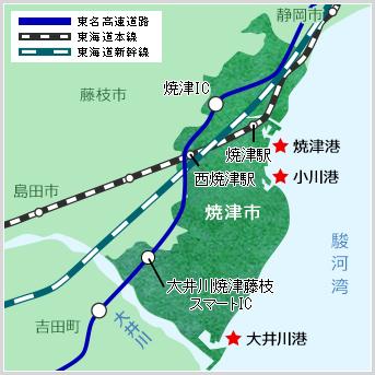 小川港の風景